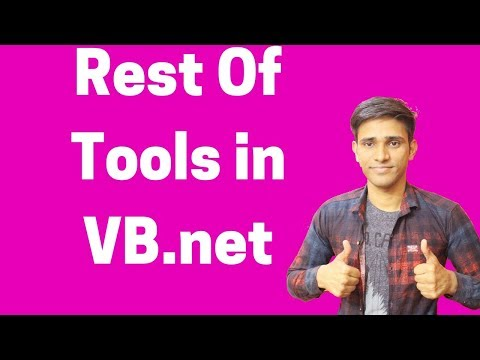 #33 How to Use Rest Of Tools in VB.net (Hindi/Urdu) | Shubham Jangid