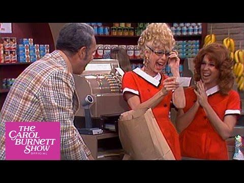 Supermarket Checker from The Carol Burnett  full sketch