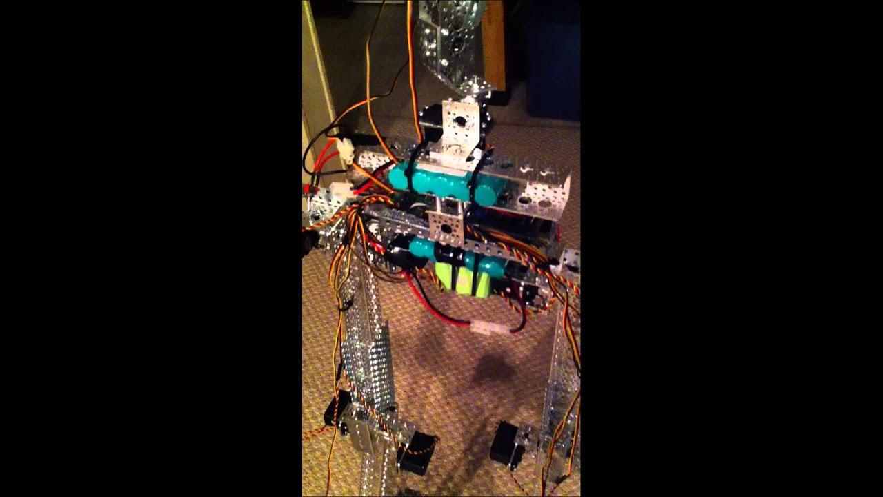 anthropomorphic robot v11 progress youtube