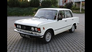 FSO 125p (Fiat 125p) - Odpalanie, prezentacja. /  Szafran Inwestycje