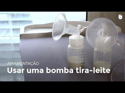 Usar uma bomba tira-leite | Amamentação