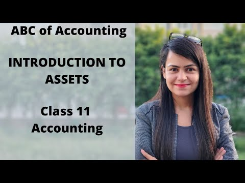 Class 11 | Basics of Accounting | Introduction to Assets |