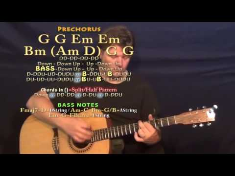 More Than I Can Say (Leo Sayer) Guitar Lesson Chord Chart - Capo 3rd