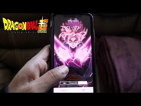 Goku Black Iphone X Live Wallpaper Youtube