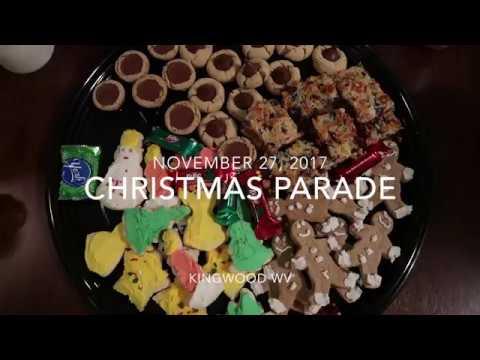 Christmas Parade Kingwood WV 2017 Annual Floats Bands Santa Claus Fire Trucks