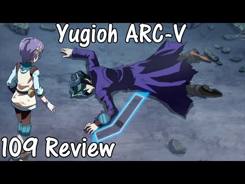 Yugioh Arc-V: Episode 109 Review! MAN DOWN! (The Falcon Perishes on the Battlefield)