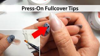 Press-On Fullcover Tips mit Acrylgel | Tutorial #13