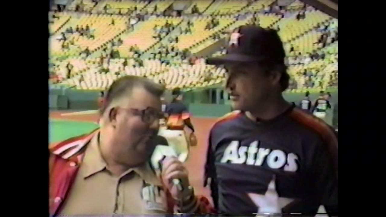 Astros - Terry Puhl - 1985