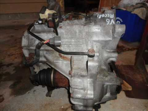 1998-2002 Honda Accord V6 Transmission Pictures and Solenoid