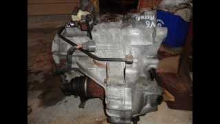 1998 2002 honda accord v6 transmission pictures and solenoid locations wmv