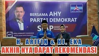Bp. AHY Ketum Demokrat - Menyerahkan  Surat Rekomendasi Ke H. ARIFIN | Calon Bupati Bima