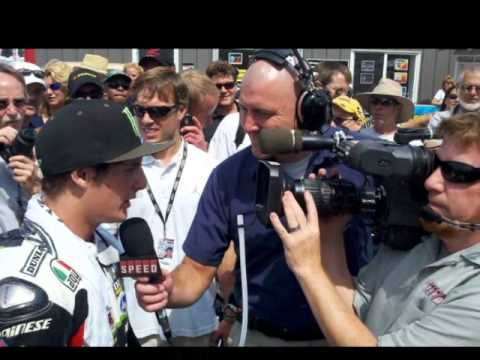 "James ""the Rocket"" AMA Pro Supersport Champion"