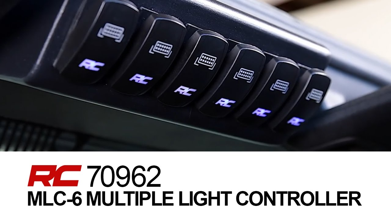 mlc 6 multiple light controller by rough country [ 1280 x 720 Pixel ]