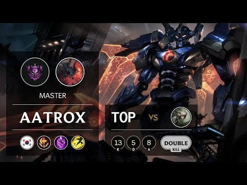 Aatrox Top vs Camille - KR Master Patch 9.20