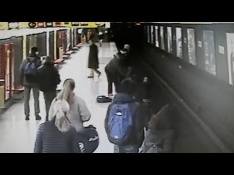 Italian teen rescues toddler from metro train tracks