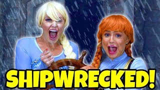 FROZEN ELSA AND ANNA SEARCH FOR THEIR PARENTS. BELLE FINDS OUT THE TRUE STORY (Totally TV Dress Up)
