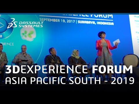 3DEXPERIENCE FORUM 2019 Asia Pacific South - A Sneak Peek - Dassault Systèmes