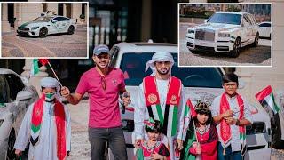 Rolls Royce കാറിൽ സ്റ്റിക്കർ പതിപിച്ചു മലയാളി😍/ UAE 49th National Day celebration