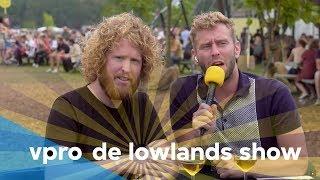 Kasper van der Laan en Tim in De Lowlands Show - Afl. 7/8