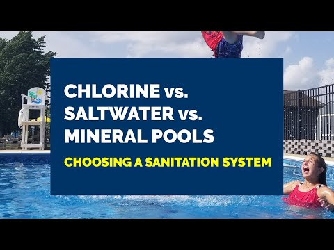 Chlorine Vs. Saltwater Vs. Mineral Swimming Pools