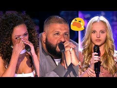 DJ KHALED In Tears During Evie Clair's Emotional Performance Talent Geeks 2017