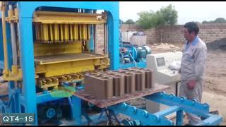 QT4-15 automatic block machine line