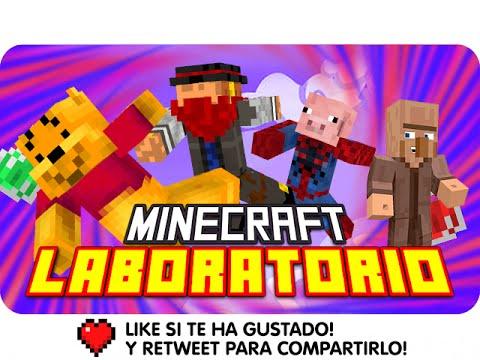 LOS TRES EN EL PODIO! | Minecraft Laboratorio Con Macundra, Sarinha Y Luh