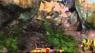 Guild Wars 2 Sunshade Caverns vista - Metrica Province