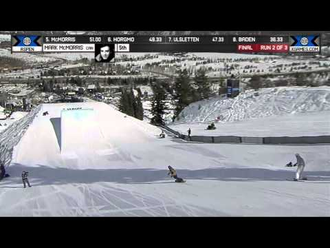 Mark McMorris wins gold in Men's Snowboard Slopestyle - Winter X Games