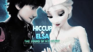 » the sound of my heart (hiccup x elsa)