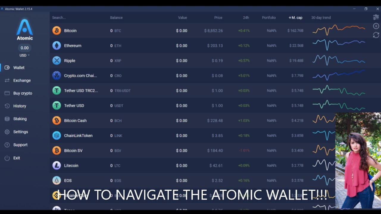 How to SEND & RECEIVE CRYPTOCURRENCY TO  the ATOMIC WALLET - PART 2 7