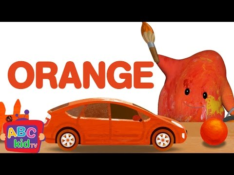Color Song - Orange | CoCoMelon Nursery Rhymes & Kids Songs