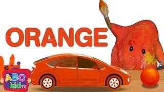 Color Song - Orange   CoCoMelon Nursery Rhymes & Kids Songs