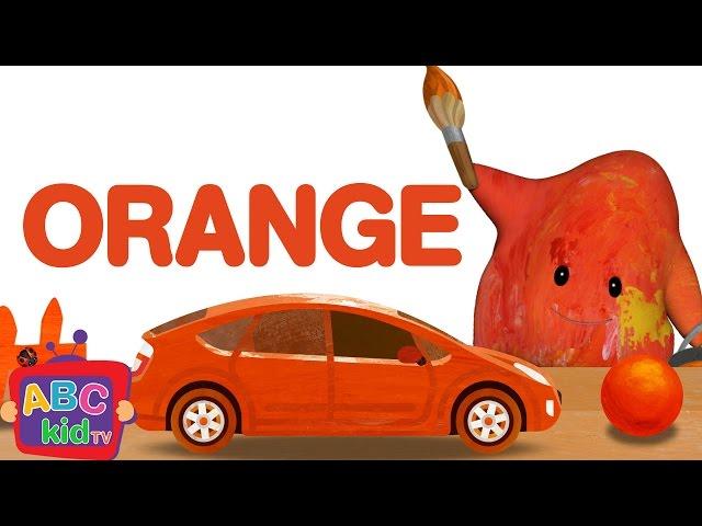 Color Song - Orange | CoCoMelon Nursery Rhymes & Kids Songs
