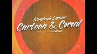 Kendrick Lamar - Cartoon & Cereal (Ft. Gunplay) (Prod. by THC) with Lyrics!