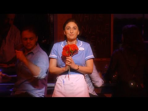 Show Clips of Sara Bareilles in Broadway's WAITRESS
