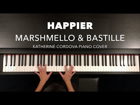 Marshmello & Bastille - Happier (HQ piano cover)