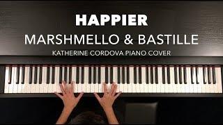 Marshmello & Bastille - Happier (HQ piano cover)