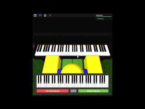See You Again Wiz Khalifa On A Roblox Piano Again Youtube