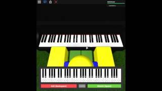 See You Again - Wiz Khalifa on a ROBLOX piano. [Again]