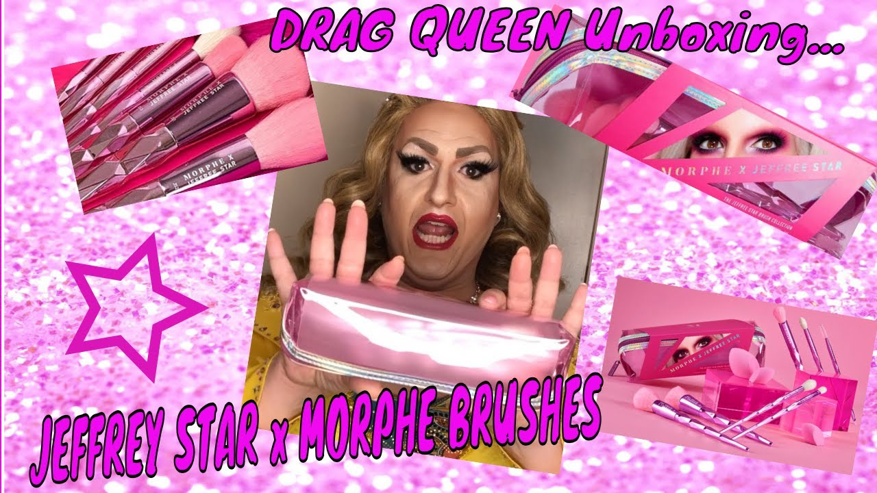 JEFFREE STAR x MORPHE BRUSHES reviewed by DRAG QUEEN Tora Himan