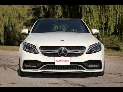 2015 Mercedes-Benz C63 S AMG Review