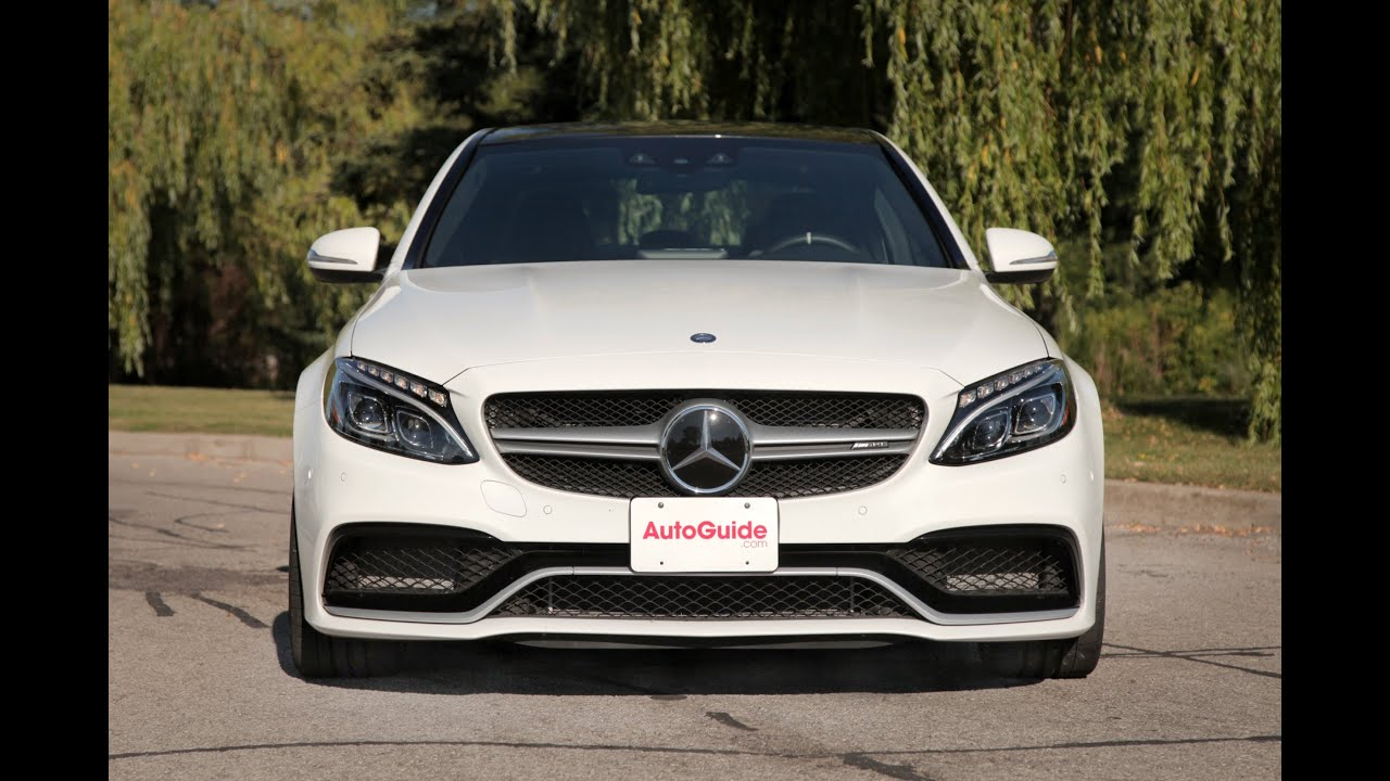2015 mercedes benz c63 s amg review