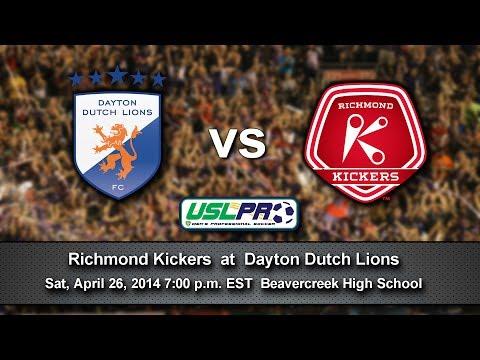 Dayton Dutch Lions vs Richmond Kickers