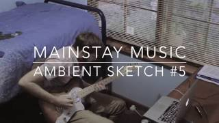 ambient sketch 5 strymon blue sky zcat big reverb eventide timefactor