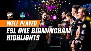 Хайлайты ESL One Birmingham 2018