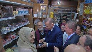 Erdoğan'ın cüzdanı ilk defa görüldü Reis halkın içinde!
