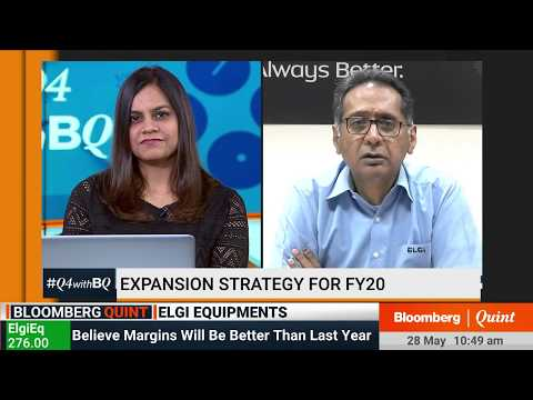 Elgi Equipments Expects Magins To Improve In FY20