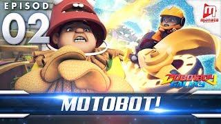 BoBoiBoy Galaxy EP02 | Motobot! - (ENG Subtitle)