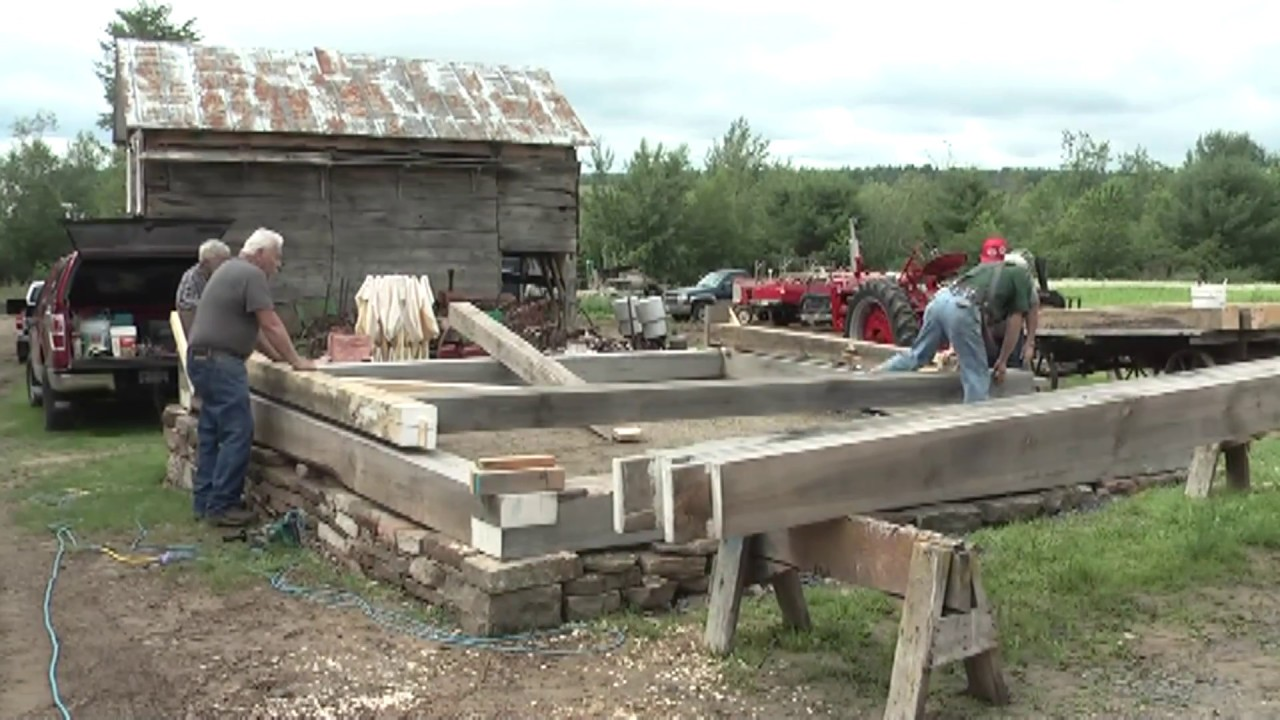 OLC - Babbie Museum Barn Raising  6-29-13